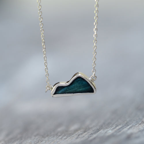 Tourmaline Mountain Necklace