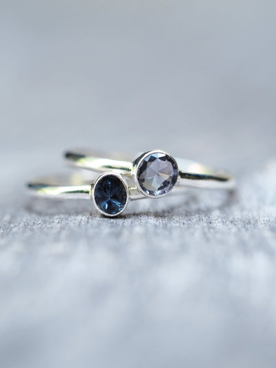 Blue Spinel Ring - Gardens of the Sun Jewelry