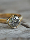 AA Meri check Moody Borneo Salt and Pepper Diamond Ring - Gardens of the Sun Jewelry
