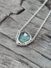 AA Yudi SKU Montana Sapphire Necklace - Gardens of the Sun Jewelry