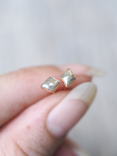 Kite Diamond Earrings - Gardens of the Sun Jewelry