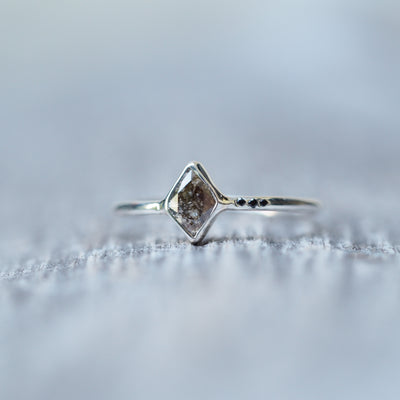 Kite Diamond Ring - Gardens of the Sun Jewelry