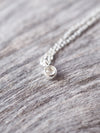 Rose Cut Diamond Necklace - Gardens of the Sun Jewelry