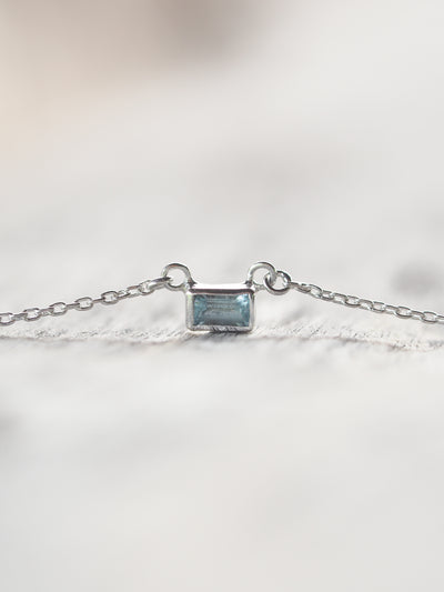 Aquamarine Necklace - Gardens of the Sun Jewelry