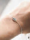 Rose Cut Sapphire Bracelet - Gardens of the Sun Jewelry