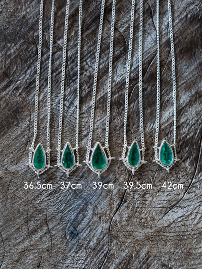 Brazil Emerald Necklace - Gardens of the Sun Jewelry
