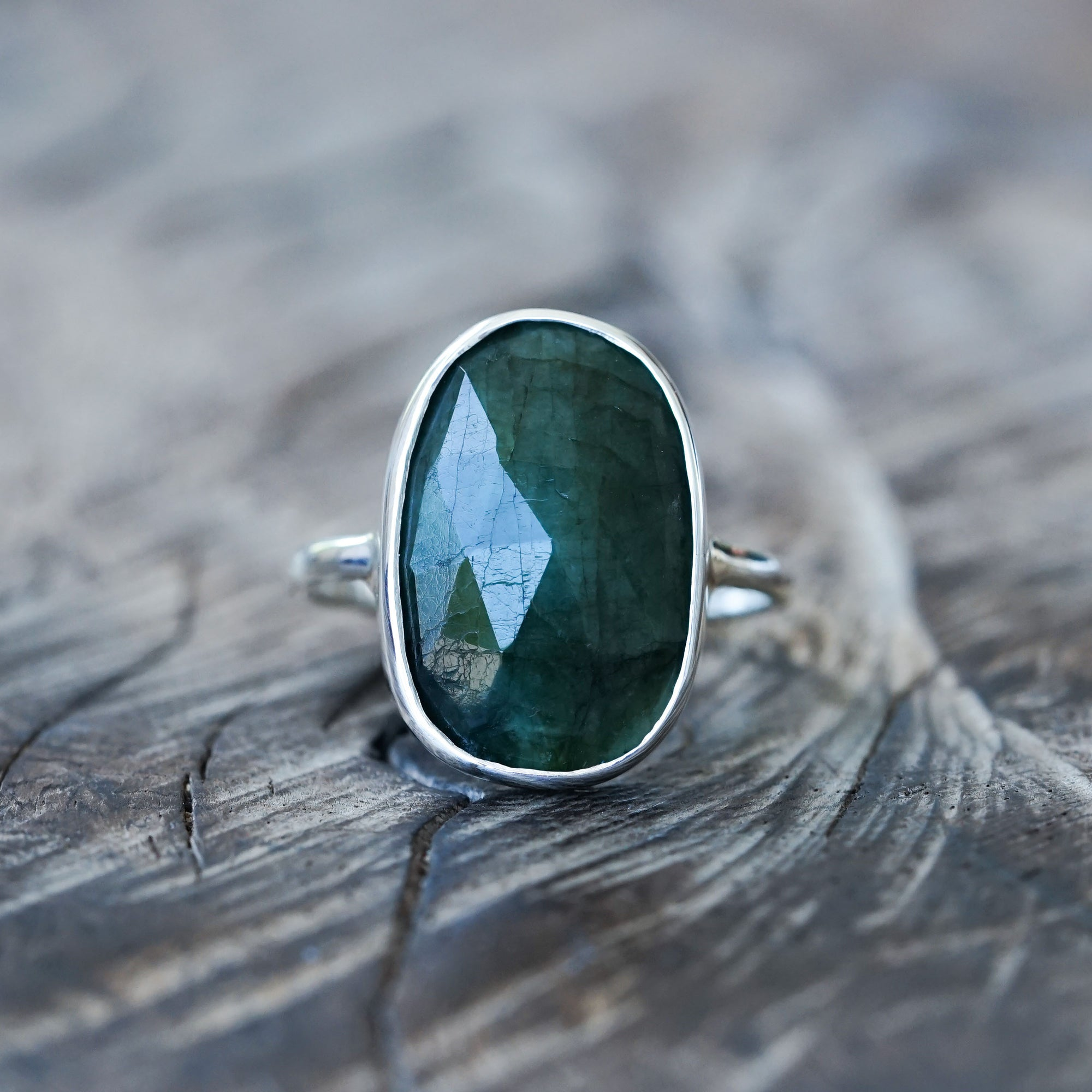 Large Emerald Ring