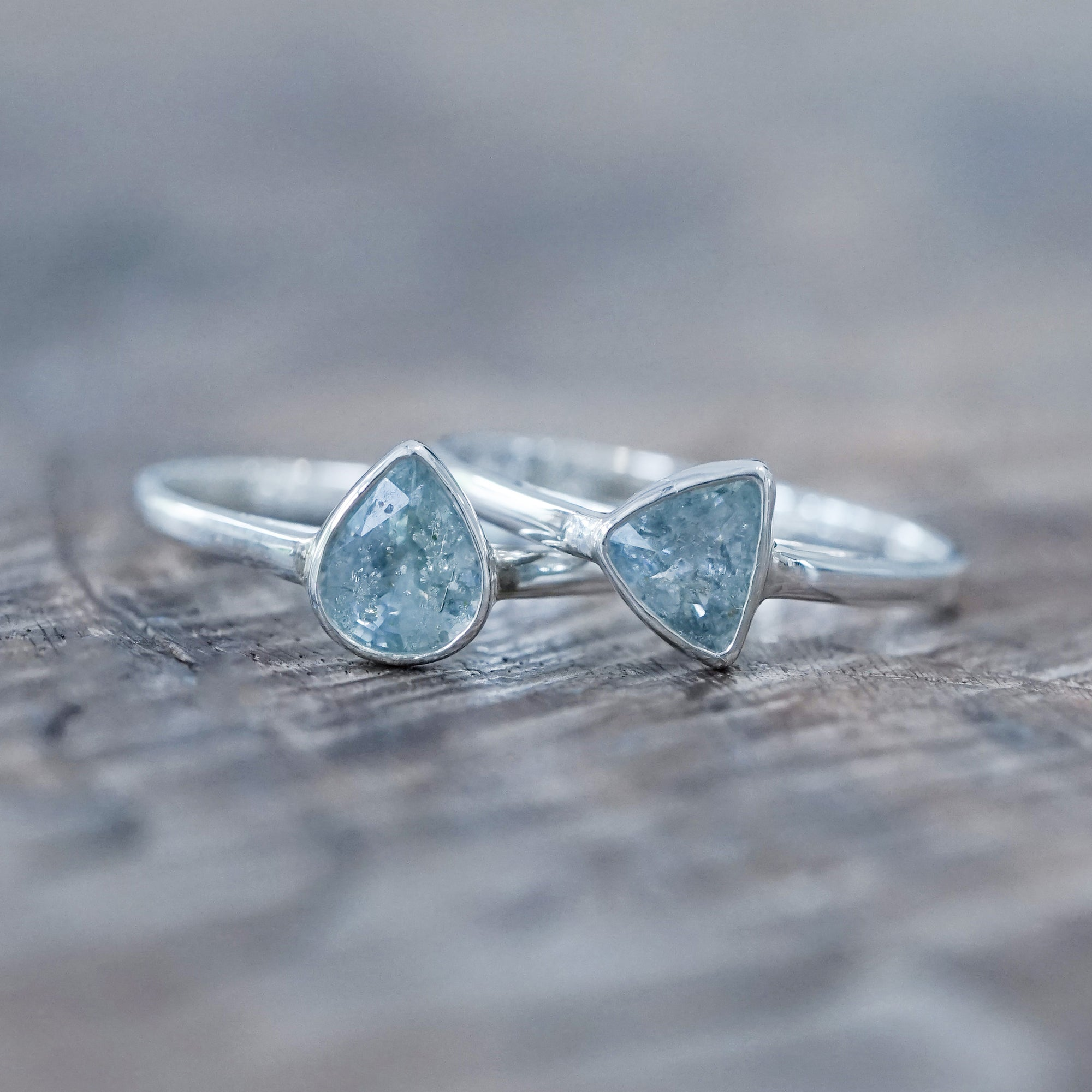 Baby Breath Sapphire Ring