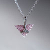 AA Tourmaline and Diamond Necklace - Gardens of the Sun Jewelry