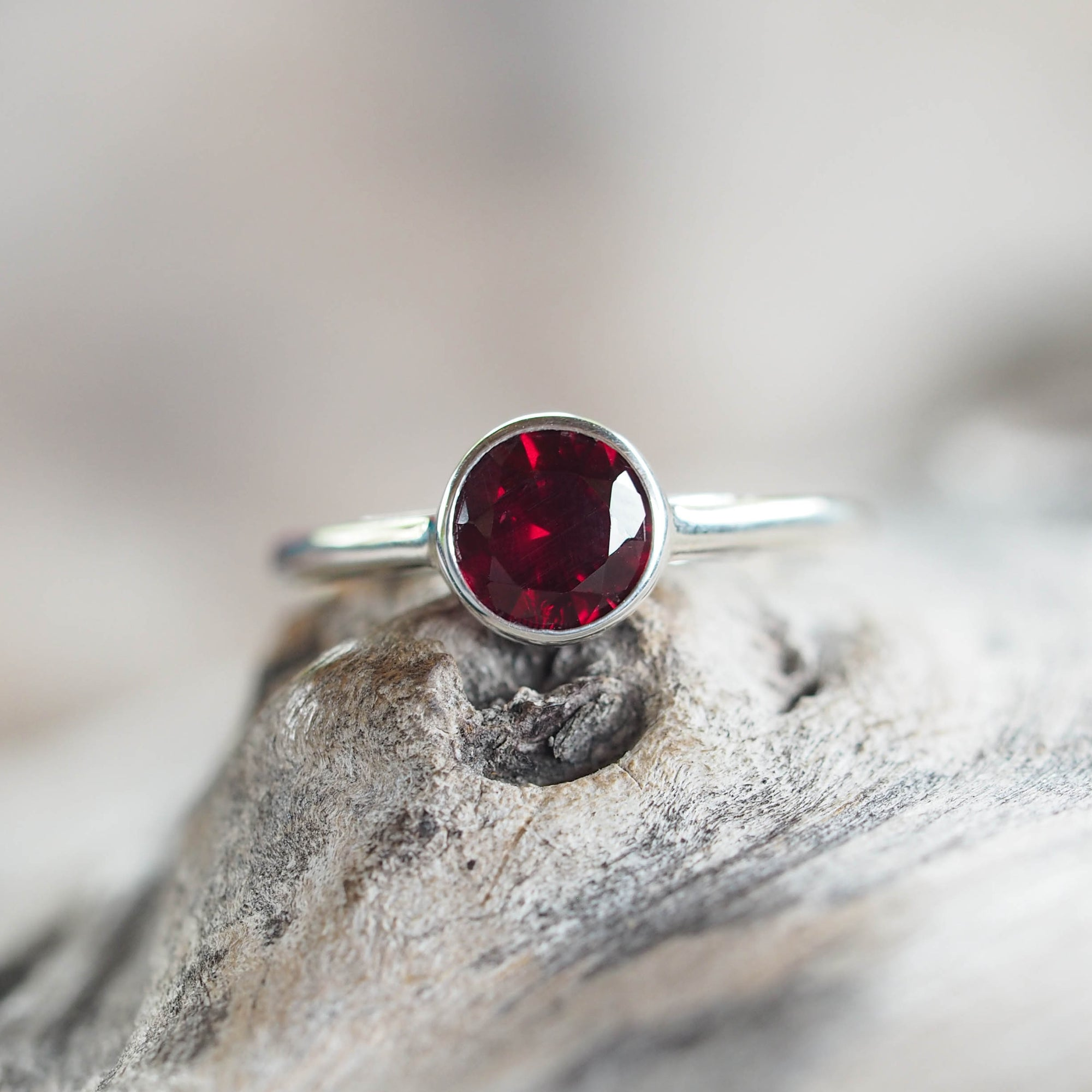 Ant Hill Garnet Ring