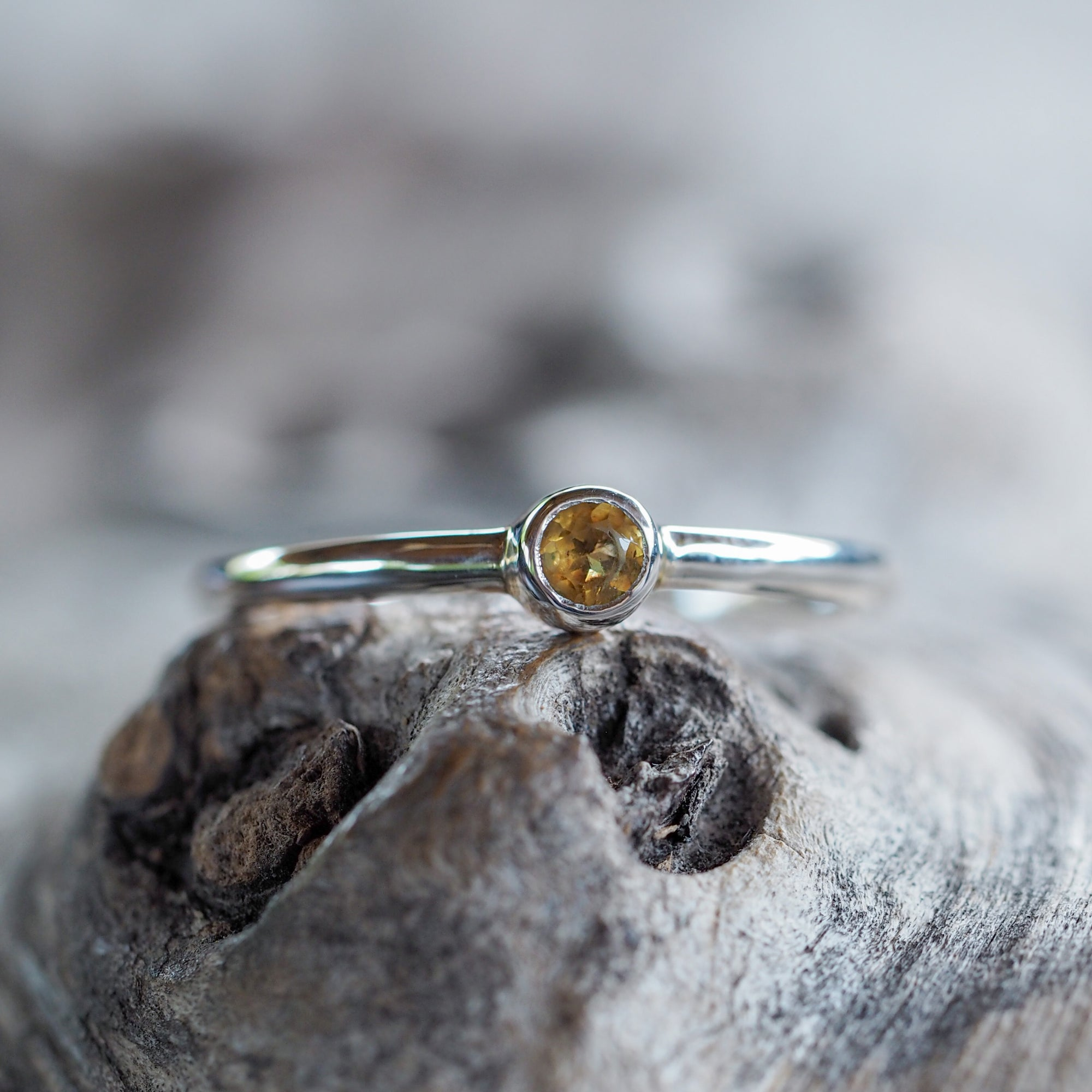 Everyday Citrine Ring