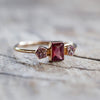 AA ANNISA Rhodolite Garnet and Spinel Ring - Gardens of the Sun Jewelry