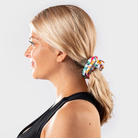 Sunset Floral Scrunchie