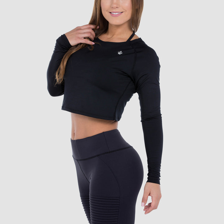 High Performance Cropped Longsleeve