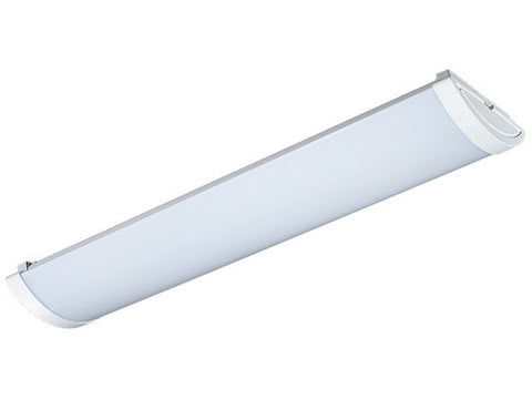 Vibe Puredee Fluorescent Light Surface Mounted Slimline 56W in 120cm