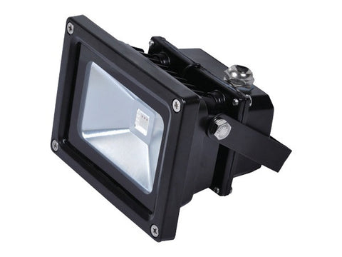 Vibe LED Flood Light w Remote Black 10W 20W 30W or 50W in RGB