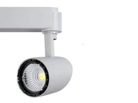 Vibe Elegant LED Track Light Black or White 12W in 15cm
