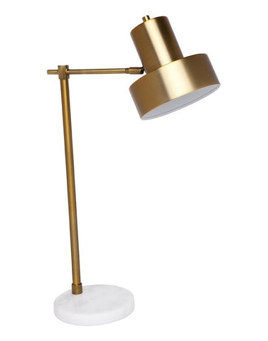 Cafe Lighting Marlin Table Lamp Brass in 62cm