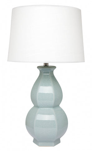 Cafe Lighting Erica Table Lamp Mint w White 68cm