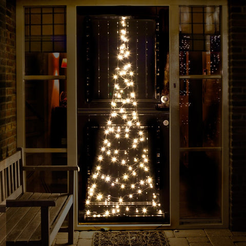 Rouge Living Fairy Bell Christmas Door Tree in 210cm