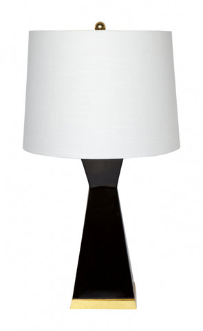 Cafe Lighting Douglas Table Lamp Black or Moss B22 in 78cm