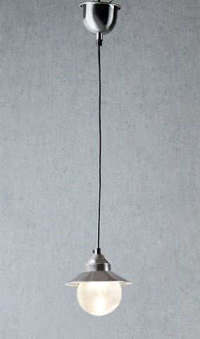 Emac Lawton Auckland Hanging Lamp Antique Silver G9 in 15cm