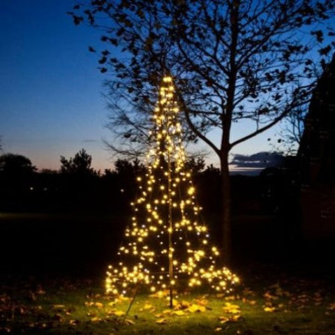 Rouge Living LED Fairy Bell Christmas Tree in 300cm