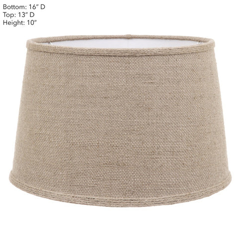Emac Lawton Lamp Shade in Natural 40cm