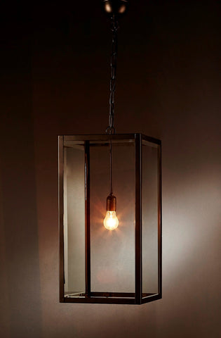 Emac Lawton Archie Rose Pendant Light E27 in 40cm or 60cm
