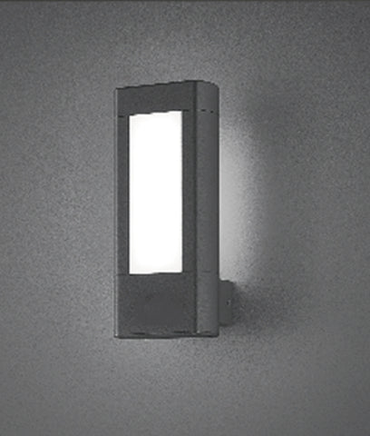 CLA Lighting Amun LED Wall Light Exterior Black 10W 25cm