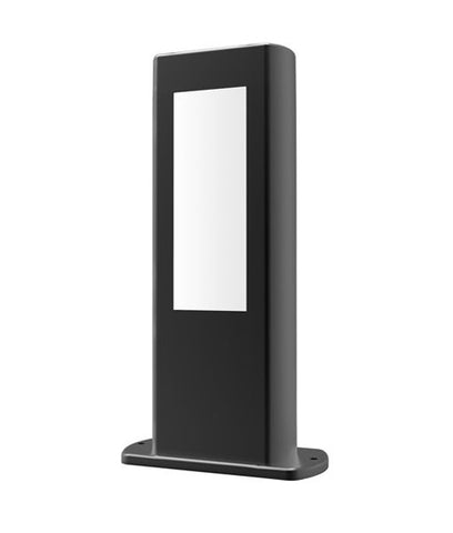 CLA Lighting Amun LED Post Bollard Exterior Black 10W or 12.5W
