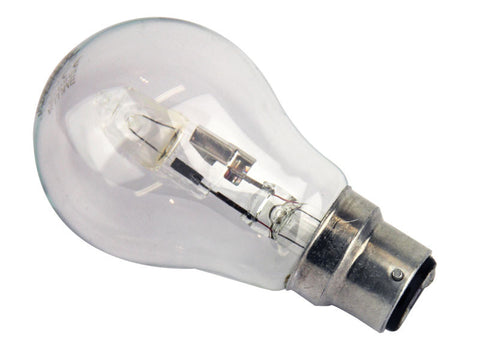 Oriel Halogen Globe Dimmable Clear or Pearl in B22 or E27 10cm