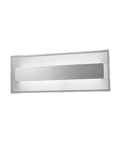 CLA Lighting Barcelona LED Wall Light Satin Chrome 11.2W in 36cm