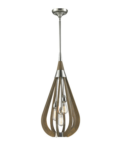 CLA Lighting Bonito Pendant 3 Light Onion E27 in 76cm