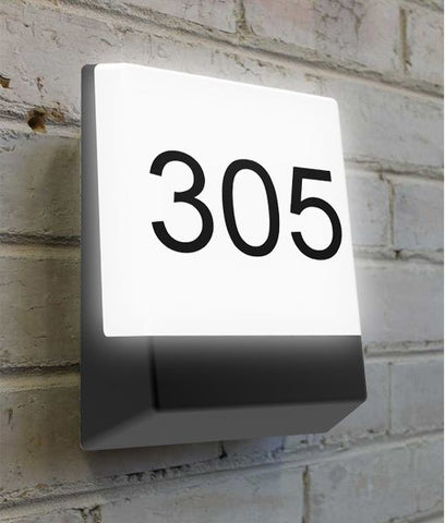CLA Lighting Bulk LED Wall Light Letterbox Outdoor Black or White 12W in 21cm