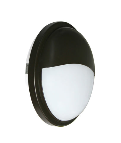CLA Lighting Bulk LED Wall Light Outdoor Round in Black or White 20W 23cm