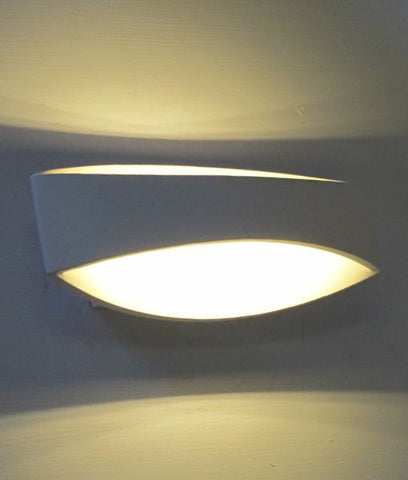CLA Lighting Cannes LED Wall Light White 6W in 25cm