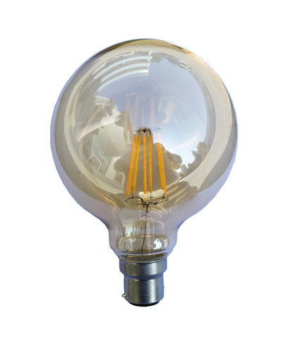 CLA Lighting G125 Carbon Filament Globes B22 or E27 in 6W 18cm