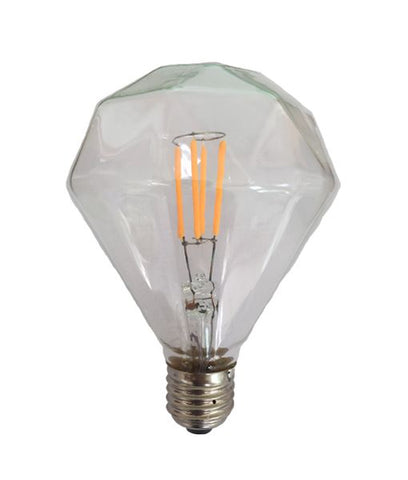 CLA Lighting CF LED Filament Globes Diamond B22 or E27 3.5W in 13cm