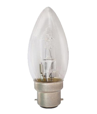CLA Lighting Halogen Globes Candle 18W or 28W in 10cm