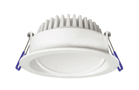 CLA Lighting GAL LED Downlight White Gimbal Round Colour Changeable in 10W