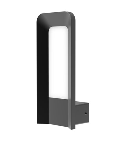 CLA Lighting Hathor LED Wall Light Outdoor Dark Grey 9W in 28cm