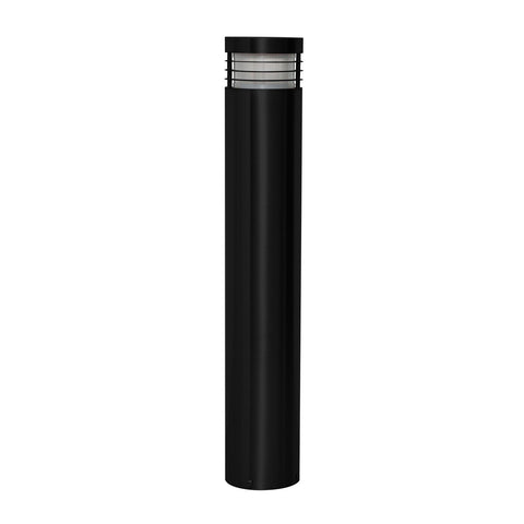 Havit Maxi Bollard Light in Stainless Steel and Matt Black 60cm