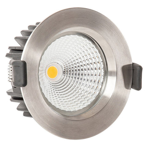 Havit LED Downlight Round 12W Stainless Steel White or Black in 11cm