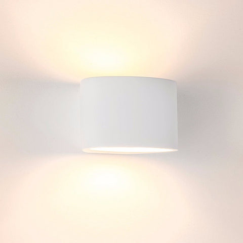 Havit Arc Plaster LED Wall Light White G9 2W in 15cm