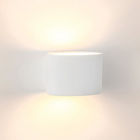 Havit Arc Plaster LED Wall Light White E14 3W in 20cm