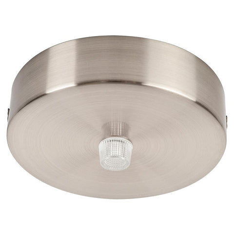 Havit Canopy Round in Black Satin Chrome or White 9cm
