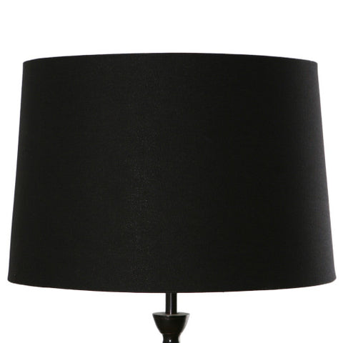 One world Drum Lamp Shade Black in 46cm
