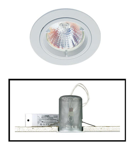 Oriel Halogen Downlight MR16 50W in 8cm