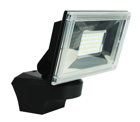 Oriel Ugo LED Flood Light Outdoor Adjustable Black 20W in 3000K 22cm